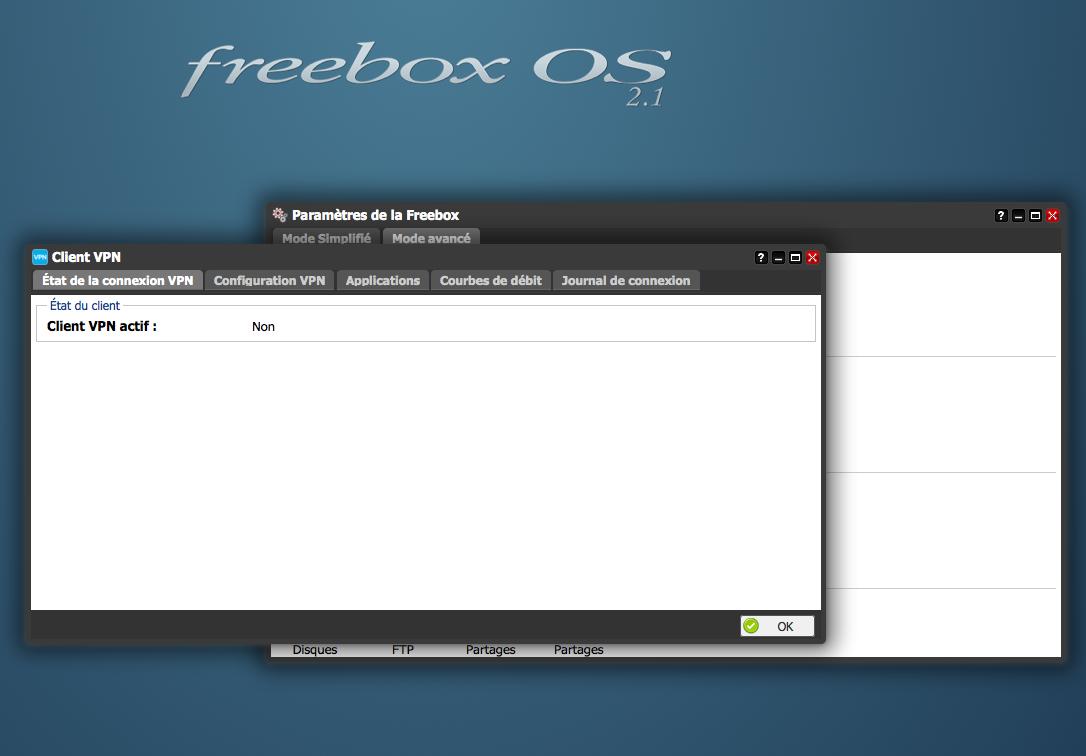 Activpn client : Liste der Proxy-Server